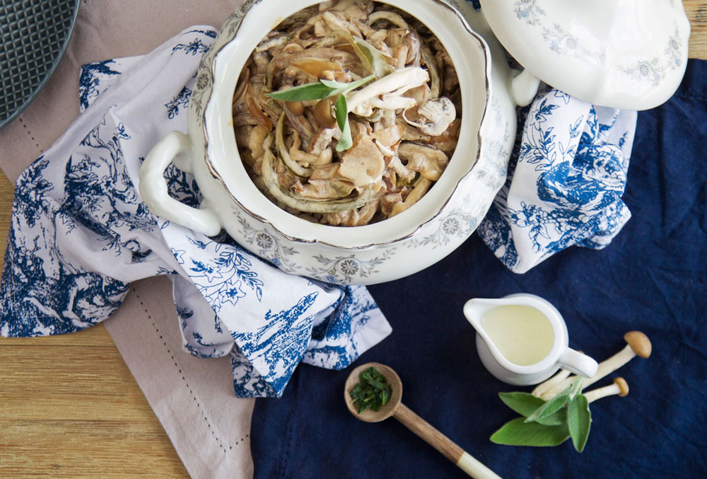 Beef Stroganoff recipe - made with First Choice Cream and exotic mushrooms