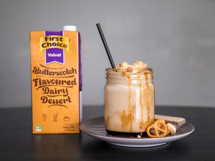 Shake It! Butterscotch Velvet Milkshake