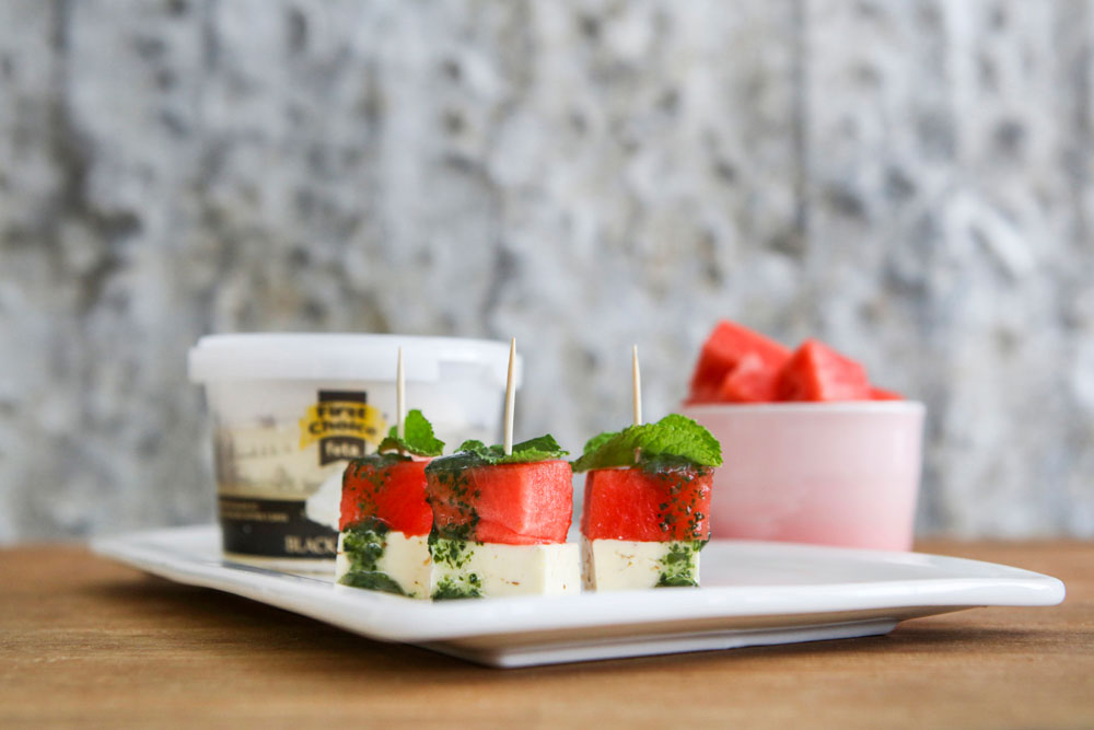 First Choice - Feta, watermelon & mint cheese pairing